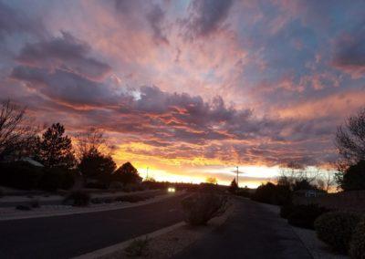 Sunset in Ventana Ranch
