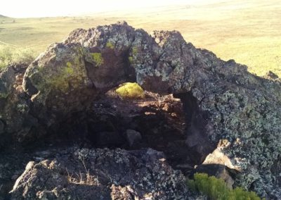 Volcanic arch near Black Volcano