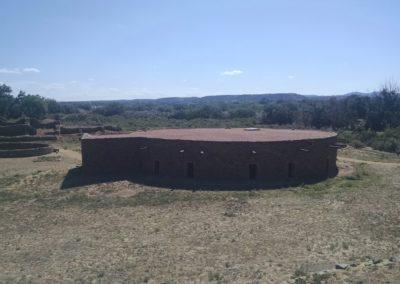 Kiva at Aztec Ruins, Aztec