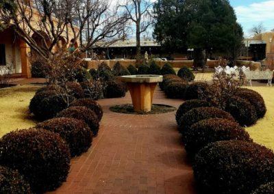 San Felipe Garden in Old Town Albuquerque