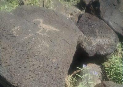 Petroglyph at Piedras Marcadas